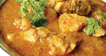 Wayanad chicken curry at Little Home Resort, Wayanad